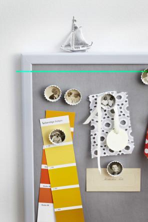 Fotoalbum, Kronkorken als Magnete