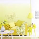 Einrichten in Gelbtoenen, To furnish in yellow shades