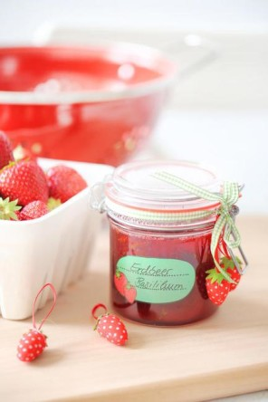 Erdbeermarmelade, Strawberry jam